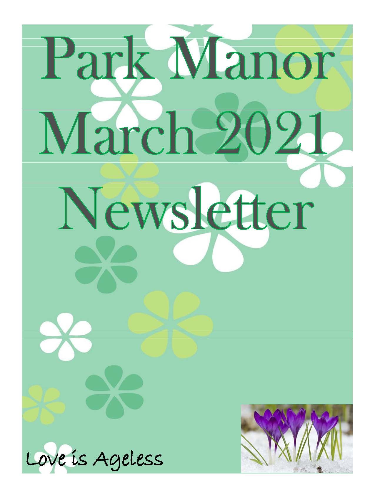 2021 March Newsletter